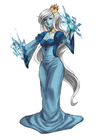 Ice Queen by strawberryjamm