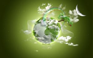Green Planet by Gomer08