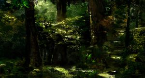 2015 04 11 Forest by psdeluxe