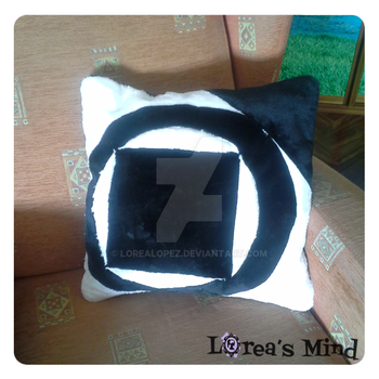 Tremere cushion by LoreaLopez