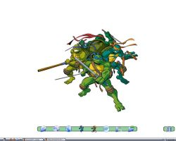 Ongoing TMNT theme by nefosik