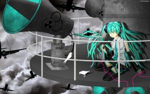 Hatsune Miku Love is War by faerhann