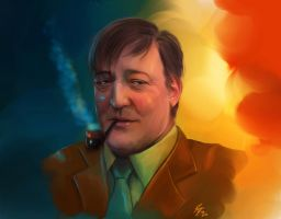 Stephen Fry by Moumou38