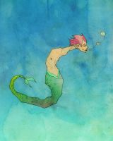 Merman by MadSketcher