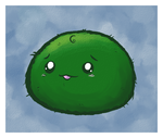 baby marimo chan by FizTheAncient