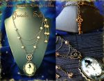 Steampunk Cinderella Jewelry Set by random-wish