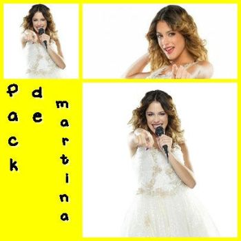 Pack de martina stoessel by VGomez