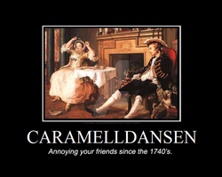 Caramelldansen Demotivational by Rama-Olendris
