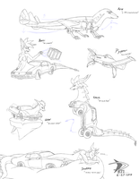 Drautogon and Aeromorph flexibility dump by Sabre471