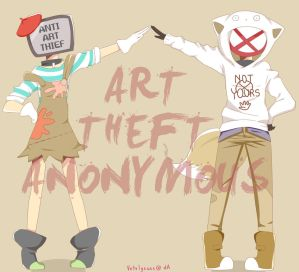 contest: art theft anonymous by s-haa