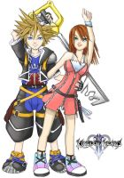 kingdom hearts 2 by haether