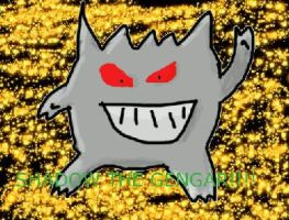 Shadow the gengar by Evilzombie400