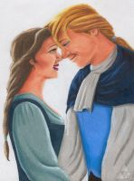 Belle and her Prince by PZB