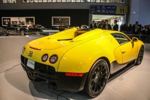 Bugatti Veyron Grand Sport Rear by seznur