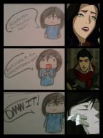 My reaction to Makorra by irmesia