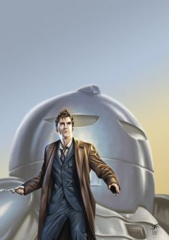 The Tenth Doctor 1 (2014) by SteveAndrew