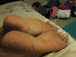 Soles up Jackie by boosters