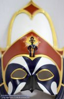 Custom Mini Horus Egyptian Leather Mask by senorwong