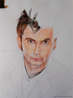 WIP - David Tennant (#2) by Trilly21