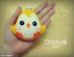 Chicky Plush by SongAhIn