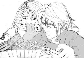 Squall and Rinoa Scary Movie by mrs-strife