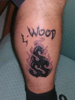 L Wood Tattoo by mcjjsurber