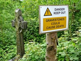 Gravestones could cause death by TDGreen
