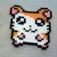 Hamtaro Perler Beads by Artistic-Imagery