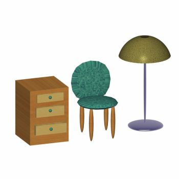 3d furniture by Henrry2012