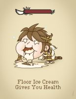 Floor Ice Cream... by M-Thirteen