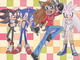 Rq : Star the Hedgehog and SSS by Dark0Light