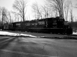 Norfolk Southern GP38-2's by LDLAWRENCE