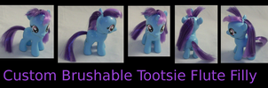 Custom Tootsie Flute Filly Brushable by Gryphyn-Bloodheart