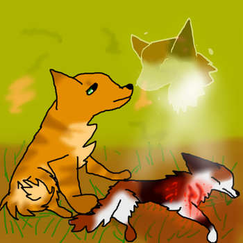 Warrior Cats - Spottedleaf's Death by Speedyscout122