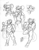 Nu Gua Sketches-1 by Inkblot-Rabbit