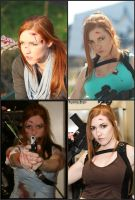 The many faces of Lara Croft by KPCosplays