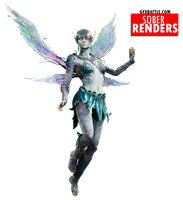 [The Fey] Paragon Render {Opaline} by SoberDreams