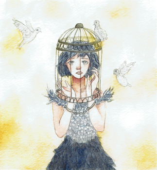 A Bird Cage by Kreydus