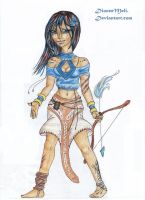 The Tribe Princess by DioneeMeli