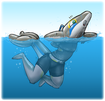 Cyrin Commission - Most Buoyant Toy by Redflare500