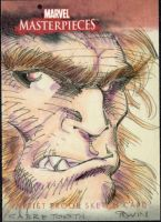 Sabretooth MM3 AP sketch card by MarkIrwin