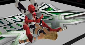 Evil Rose Versus Dixie Clemets by DreamCandice