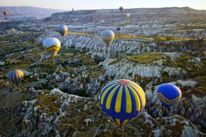 Balloons over Cappadocia by CitizenFresh