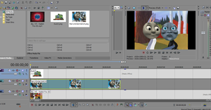 Making' 'nother video on Sony Vegas by Percyfan94
