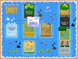 Worlds of 8-Bit Tarot by indy1725