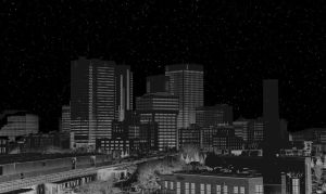 Blackout in Downtown Winnipeg by Joe-Lynn-Design