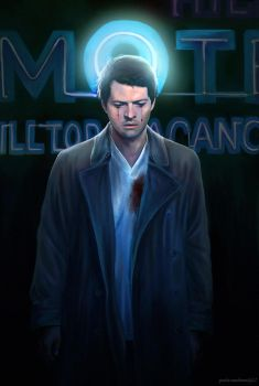 Castiel - Angel in America by Petite-Madame