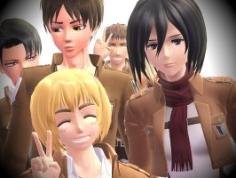 [MMD] Time for a group photo! by Kaiporter