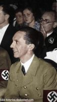 Joseph Paul Goebbels. (in colour) 29 by Julia-Koterias