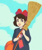 Kiki's Delivery Service by Narasura-of-Kashi
